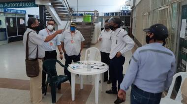 Estudian reapertura de rutas desde la Terminal de Transporte de Santa Marta