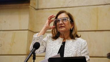 Margarita Leonor Cabello Blanco, electa procuradora General de la Nación.