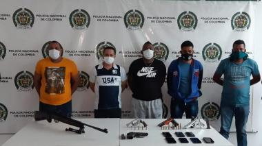 Alias Marlon y Kevin Tovar, entre los 33 capturados en operativos policiales