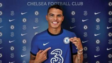 Chelsea ficha al brasileño Thiago Silva