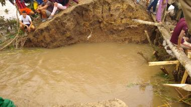 Alerta roja en Córdoba por incremento de las aguas en el río Sinú