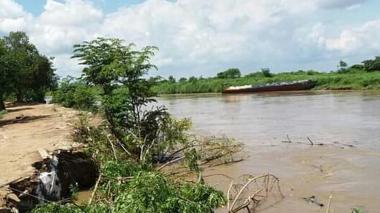El río San Jorge amenaza con inundar poblaciones del sur de Sucre