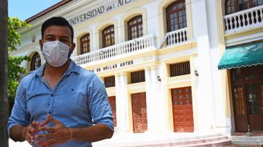 Álvaro Martes señala que los mismos habitantes del barrio son multiplicadores de los procesos culturales.
