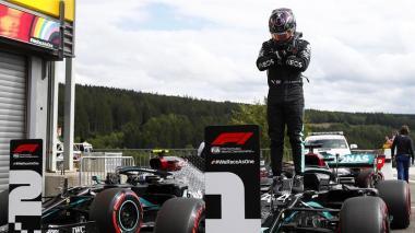 Lewis Hamilton saldrá primero en el Gran Premio de Bélgica