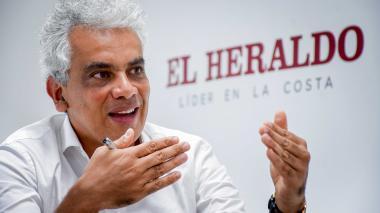 Ricardo Lozano, ministro de Ambiente y Desarrollo Sostenible, habló sobre la situación del Parque.