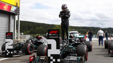 Lewis Hamilton refuerza su liderato al ganar el Gran Premio de Bélgica