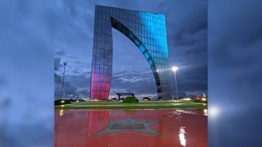 Monumento Ventana de Campeones.