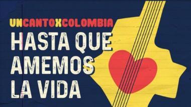 Afiche del concierto virtual.