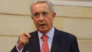 El exsenador y expresidente, Álvaro Uribe Vélez.