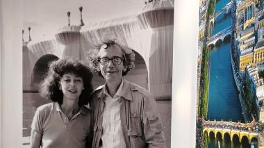 Jeanne-Claude (1935-2009) y Christo (1935-2020).