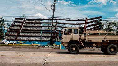 El ciclón Laura causa daños millonarios en EE.UU. y el Caribe