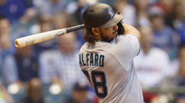 En video | Jorge Alfaro impulsa una carrera en victoria de Marlins ante Mets