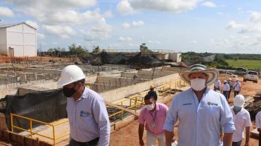Acueducto del San Jorge comenzaría a operar antes de finalizar el año