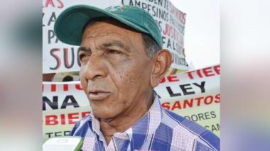 Se fue otro líder de las luchas campesinas en Sucre