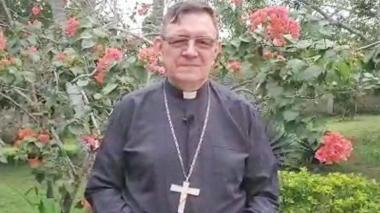 Monseñor José Clavijo Méndez, obispo de la Diócesis de Sincelejo.