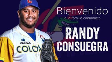 Caimanes de Barranquilla se refuerza con Randy Consuegra
