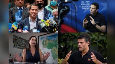 Oposición dividida en Venezuela destapa cartas frente a régimen de Maduro