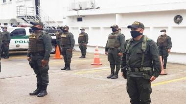 La Policía refuerza la seguridad en Sincelejo