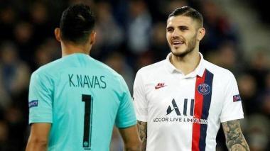 Keylor Navas y Mauro Icardi serían dos de los contagiados por Covid-19 en el PSG.