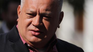 El dirigente chavista Diosdado Cabello.