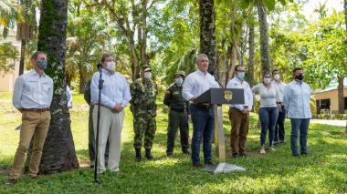 Venezolanos capturados preparaban acciones desestabilizadoras: Duque