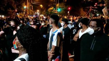 Protestas en Washington después de que la policía matara a un joven negro
