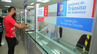 Tránsito del Atlántico cuenta con nuevo software para trámites en línea