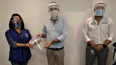 El PNUD dona a La Guajira 2.800 protectores faciales