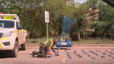 Incautan 90 kilos de coca y capturan a 2 hombres cerca de San Juan del Cesar