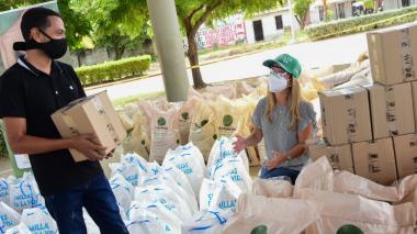 Gobernación entregó insumos de siembra en 3 municipios