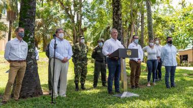 Venezuela critica a Duque tras arresto de supuestos desestabilizadores