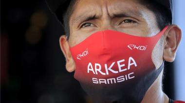 El colombiano Nairo Quintana, jefe de filas del Arkea Samsic.