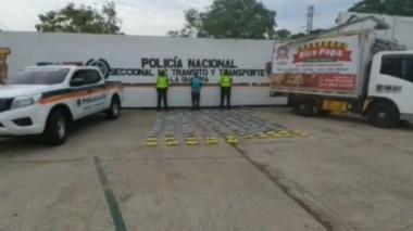 Decomisan 275 kilos de clorhidrato de cocaína en La Guajira