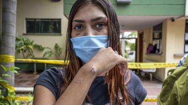 Mónica Patricia Ojeda Pabón, de 25 años.