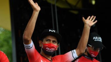 Nairo Quintana, corredor colombiano del Arkea.