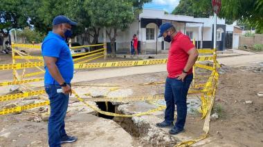 Fueron 205 familias las afectadas por las lluvias en Riohacha