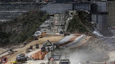 Construcción de Hidroituango.