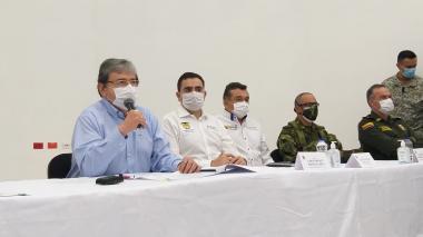 En video | Gobierno anuncia dura ofensiva tras las dos masacres en Bolívar