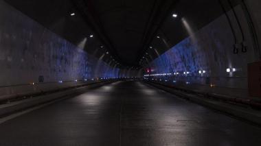 Aspecto del Túnel de la Línea.