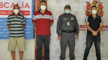 A la cárcel 7 presuntos traficantes de cocaína en Cesar