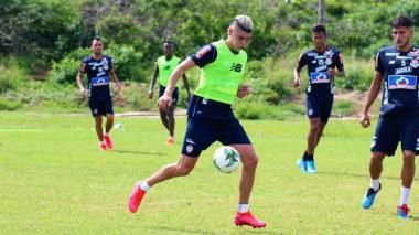 Michael Rangel ya entrena con Junior