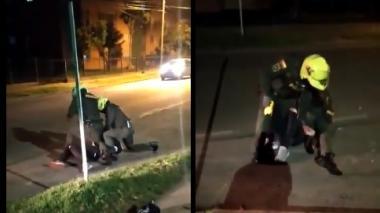 Fiscalía dejó en libertad a joven que grabó abuso policial contra abogado