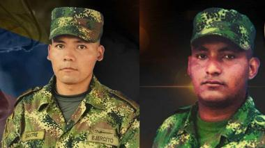 Dos soldados mueren tras activarse un artefacto explosivo en campo minado