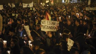 Denuncian retroceso en derechos humanos en Colombia en segundo año de Duque