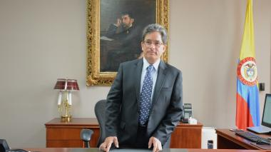 El ministro de Hacienda y Crédito Público, Alberto Carrasquilla.