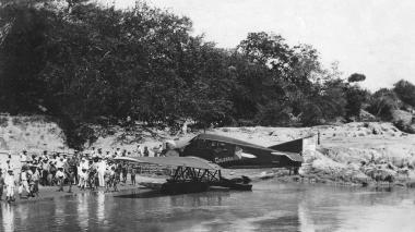 El hidroavión 'Colombia' cumple 100 años de su primer vuelo a Puerto Berrío