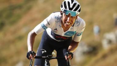 La batalla no se ha terminado para Egan Bernal en el Tour de Francia.