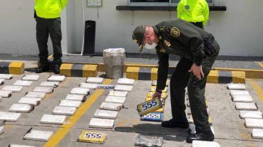 En video | Cocaína incautada era custodiada por 'Los Costeños': Policía