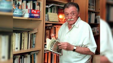 Mario Benedetti en su domicilio de Madrid (España) el 31 de mayo de 1999.