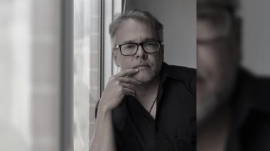 John Jairo Junieles fotografiado en Bogotá, donde está radicado y trabaja en proyectos literarios.